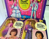 Donny and Marie Osmond Dolls and Case All New Never Used