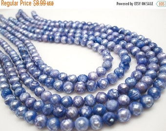 SALE Faceted Pearls, Faceted Freshwater Pearls, Lavender Freshwater Pearls, Faceted Potato Shape, SKU 4340A