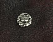 Meow charm, 15mm cast charm, cast zinc , made in USA 02009CS 3 each
