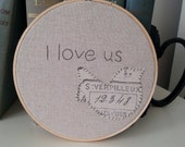 Hoop Art, Embroidery Art, Hand Embroidery, Hand Stitch, Home Decor, Wall Decor, Wall Hanging