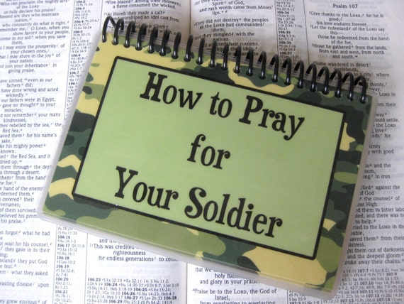 How to Pray for Your Soldier, Spiral-Bound, Laminated Prayer Cards