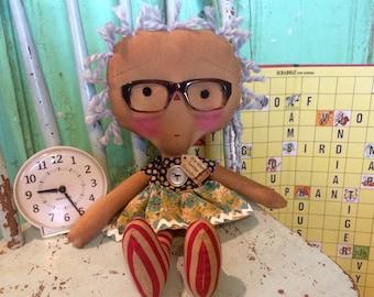 Grandma Raggedy Ann- grandmother Raggedy Annie- ragdoll - Mother's Day - mother's Day gifts - Raggedy Ann doll -