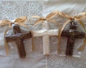 Chocolate Cross Favors confirmation baptism communion