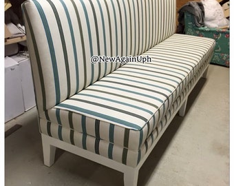 kitchen bench upholstered kitchen bench custom bench upholstered bench banquette booth custom booth dining room seating