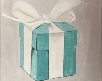 Darling Tiffany Style Box Acrylic Painting