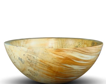 Handmade Box Elder Wood Bowl - Food Safe - Handcrafted