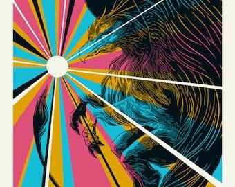 Robert Plant | Austin City Limits | 18x24 GigPoster