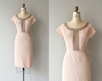 Pastiche dress | vintage 1960s dress | beaded 60s dress