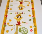 Vintage Pin Up Kitchen Towel