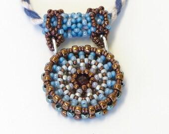 Marsala Mandala Pendant