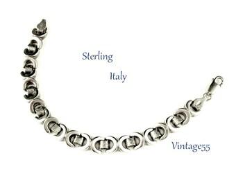 Sterling Bracelet Heavy Link Italy