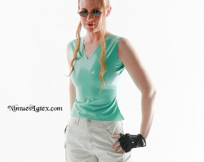 Featured listing image: V-Neck Top:  Makes a great Lara Croft Costume!