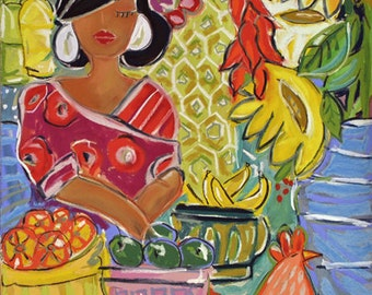 Olvera Street Giclee Reproduction