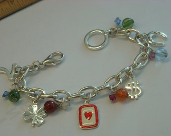 lucky charm bracelet  ( D 9 )