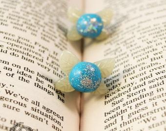 Little Fairies Polymer Clay Stud Earrings