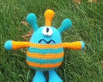 Crocheted Monster Plushie