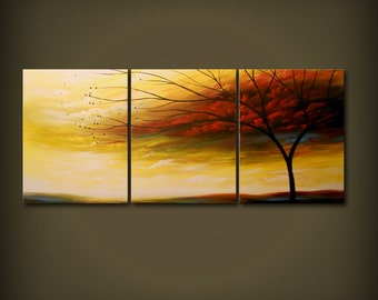 """original art painting home wall decor wall art home and living wall hanging acrylic art abstract painting 66"""" x 28"""""""