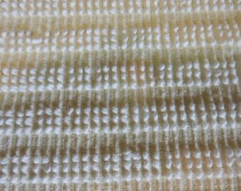 """one pieces vintage Hobnail Chenille Fabric 51""""x 41"""" (86-POF)"""