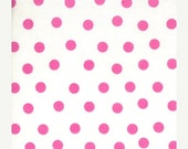 ON SALE White Pink Dot Fabric - Welcome to Bear Country - Berenstain Bears - Moda - 55506 14