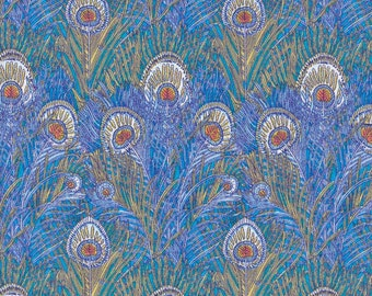 Liberty Tana Lawn Fabric Classics Hera Turquoise Half Yard