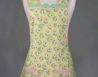 Womens Full Apron Retro Vintage Inspired 'Everyday Classic'
