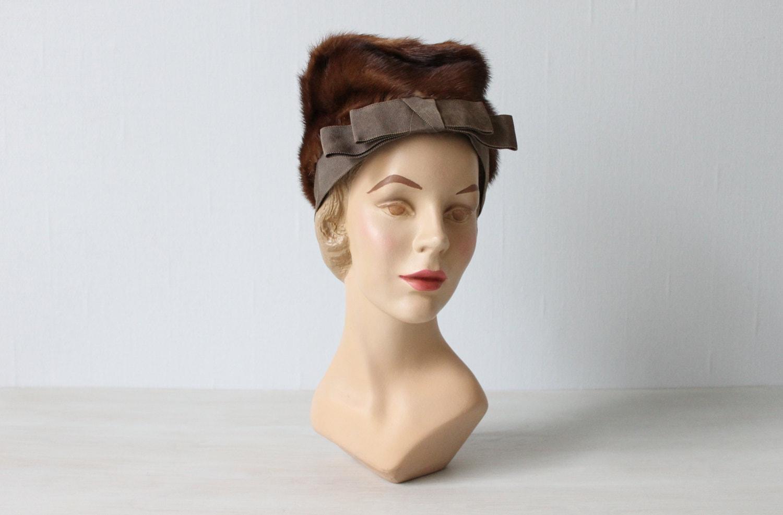 1940's Vintage Mink Hat