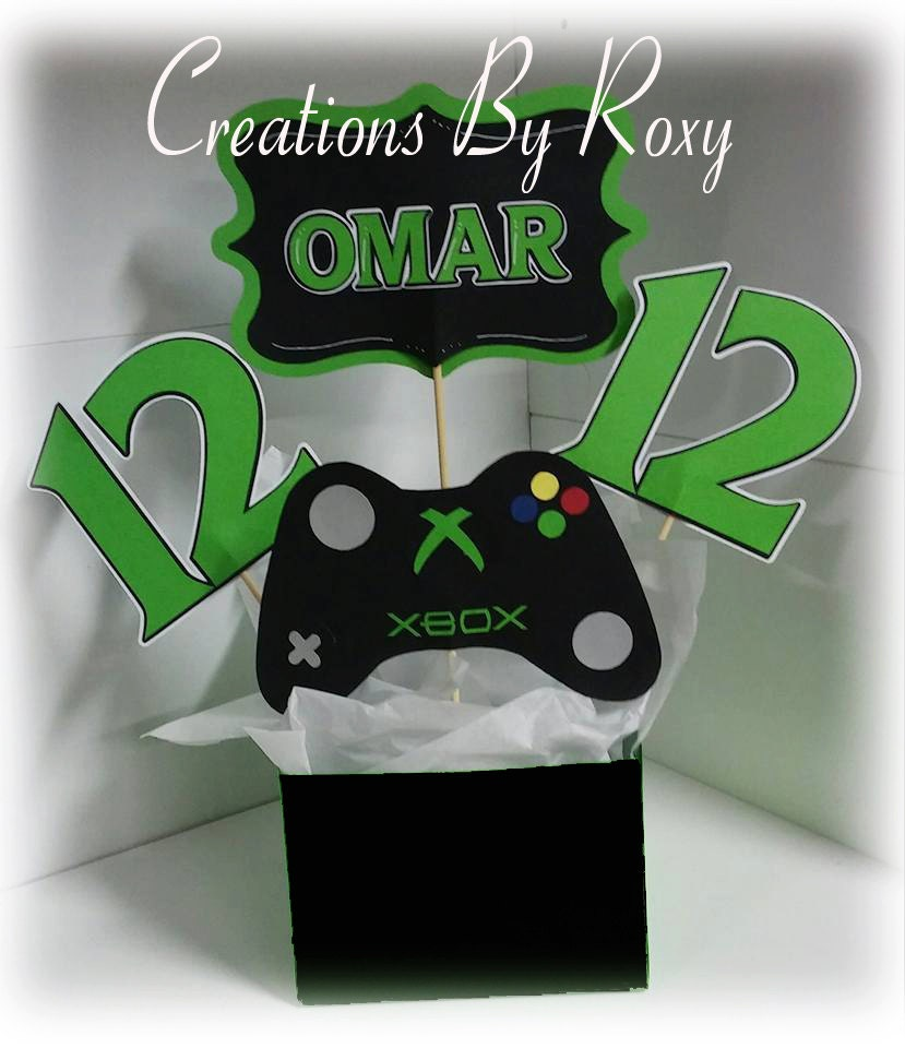 Xbox party centerpiece for Decoration xbox one