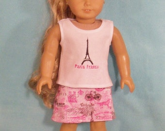 2015-18 inch Doll  Travel Outfit