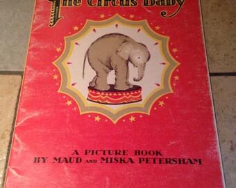 1991 The Circus Baby Children's Book