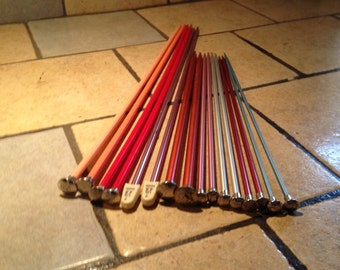 Collection of Knitting Needles