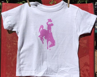 Toddler T-shirt Officially Licensed Wyoming Cowboy