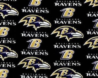 Baltimore Ravens Football Nfl Fabric (by the yard)