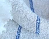B 403  antique 천 grainsack SKY BLUE  holiday feeling pillow, wedding decor, cushion 45.67long thanksgiving