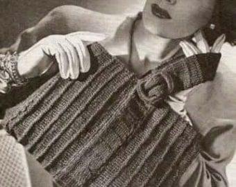 Stylish Knitted Bag 086