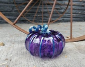 Smaller Purple Blown Glas...