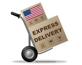 Fast shipping to USA - Upgrade Shipping United States - Flat rate shipping