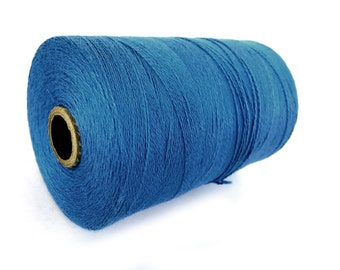 Blue Twine Bamboo Cord 0.7mm - 10 meters / 32.8 ft