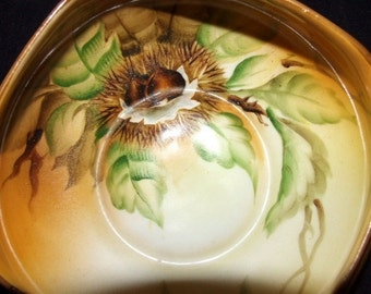 Hand Painted NORITAKE Woodland Candy Bowl 0310
