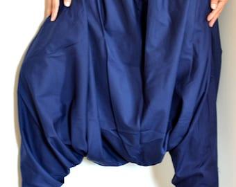 Harem Pants/Hippie Pants/Gypsy Pants/Romper/ Genie pants/Yoga pant/Bohemian pants/wide leg pants with pockets