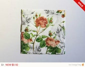 Sale -  Roses Napkin, Craft Napkin, Paper Napkin for Decoupage, Scrapbooking Napkin, Decoupage Paper Tissue