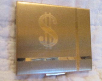 Vintage Money Compact Money Case