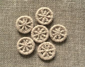 Dorset buttons set of 6