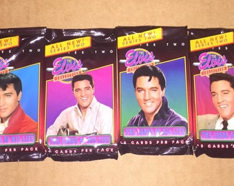 Unopened ELVIS Series 2 Pack of 12 Trading Cards