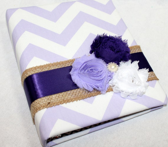 Bridal Shower Gift Record Book : Gift Recording Book, Purple and Lavender, Bridal Shower Gift Book ...