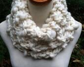 Handspun Cheviot Wool Neck Cowl