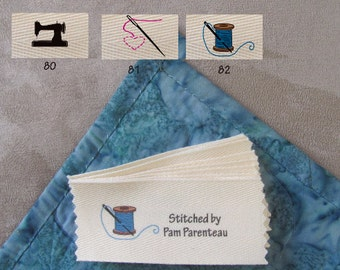 "Personalized Sewing Labels-Large size-1.5"" x 3.5"""