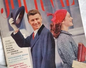 Vintage November 1956 Ladies Home Journal
