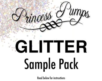 Princess Pumps Glitter Sample Pack