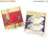 SALE 20% Off NON-LINENS Vintage Gifts Tags Christmas Kaycrest Enclosure Cards Shiny Brite Ornaments Do Not Open