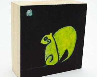 home / print of an original painting, archivally mounted to a cradled wood box